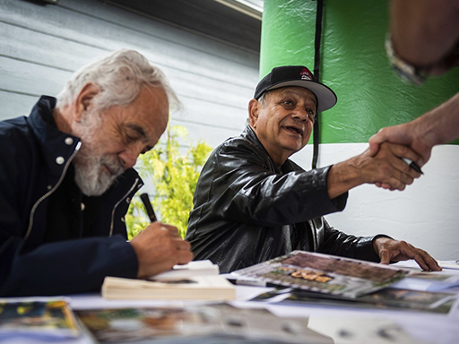 Cheech and Chong help celebrate the opening of a Tacoma marijuana store on 4/20