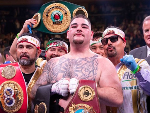Andy Ruiz Jr. TKOs Anthony Joshua to claim heavyweight titles